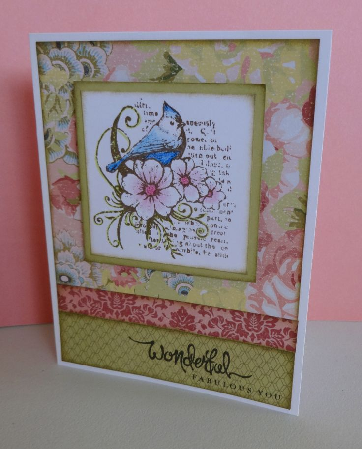 This card features the CTMH  Stamp Set 'Fabulous You', CTMH Watercolour pencils and Ariana Paper Packet. Created by Denise Tarlinton http://scrapstampshare.ctmh.com.au