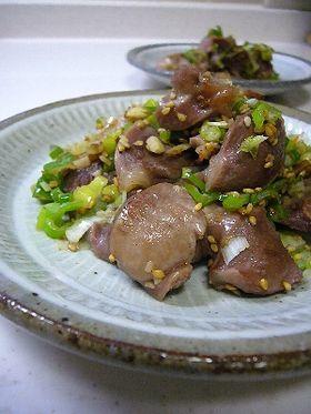 砂肝のネギ塩焼き by kamkam [クックパッド] 簡単おいしいみんなのレシピが258万品