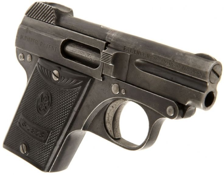 Waffenfabriks-Ges Steyr Pocket Pistol Model 1909Loading that magazine is a pain! Get your Magazine speedloader today! http://www.amazon.com/shops/raeind