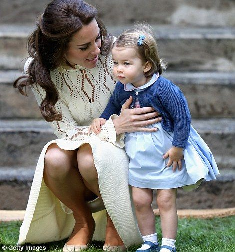 Little Princess adorable: Charlotte approaches her second birthday #dailymail
