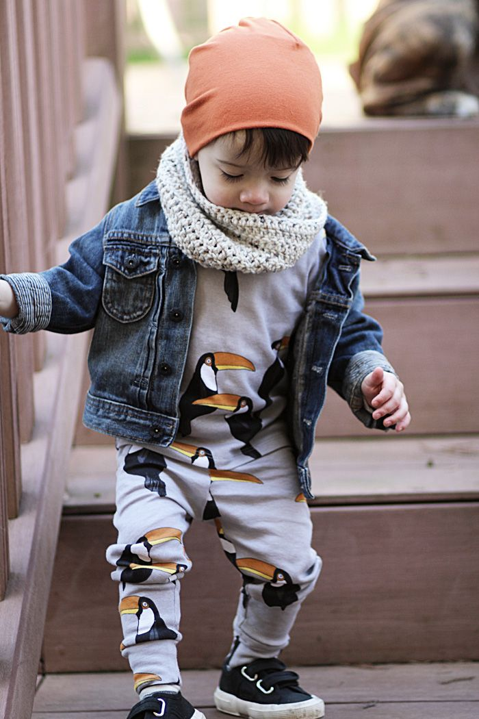 Tucans. baby boy fashion