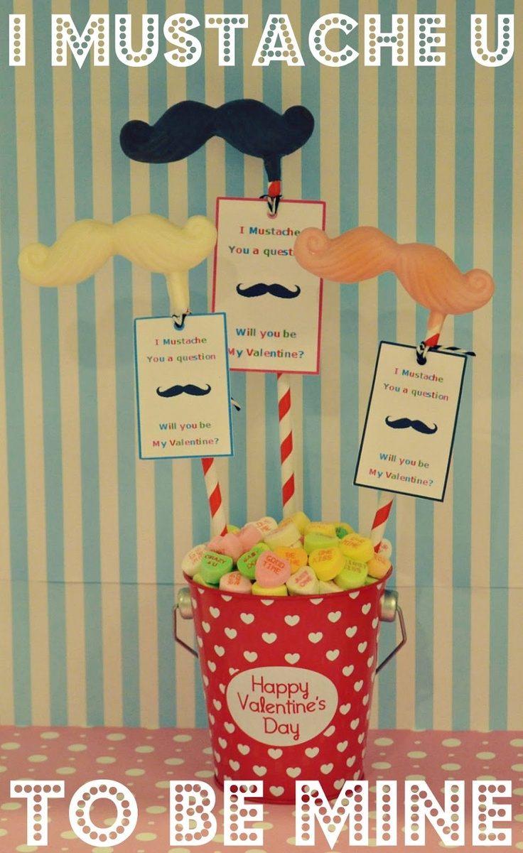 I mustache you a question....will you be my Valentine?  Quick and easy diy chocolate mustache lollipop tuturial with FREE printable tags