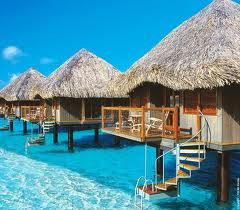 Bora Bora:  Thatched Roof, Buckets Lists, Favorite Places, Dreams Vacations, Places I D, Best Quality, Travel, Honeymoons, Borabora