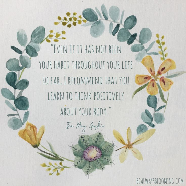 Be Always Blooming Doula Services Affirmations