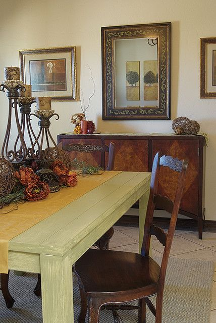 Rustic Tuscan Dining Room
