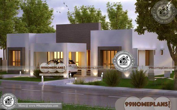 Single Storey Modern House Plans 90 1 Floor Home Design