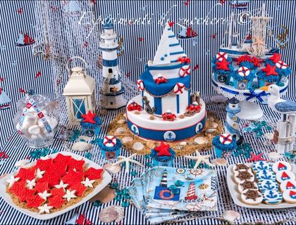 In a nautical theme. & 10 best 30th Birthday- Nautical images on Pinterest | 30th birthday ...