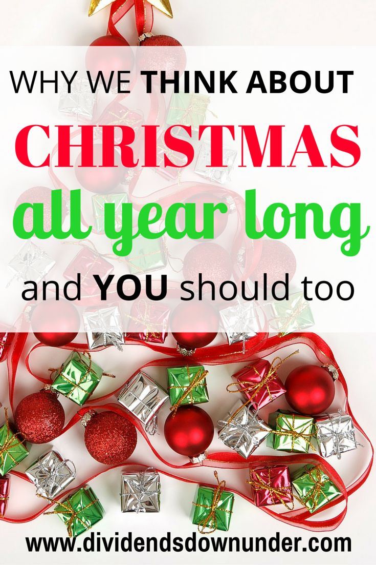 If you celebrate Christmas you'll know all too well the rush of the holiday season; the stress, busy crowds, holiday parties and lots of money flying out of your bank account (ah, the magic of Christmas). Find out why we think about Christmas all year long and how we combat Christmas stress. Australian Personal Finance Blog https://dividendsdownunder.com