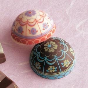 "Japanese ""Temari"" balls of chocolate goodness and joy."