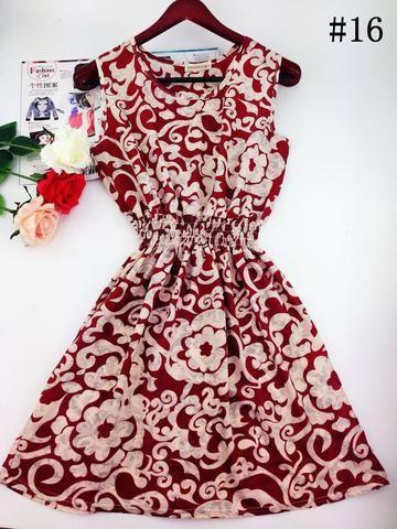 Floral Beach Dress - Small