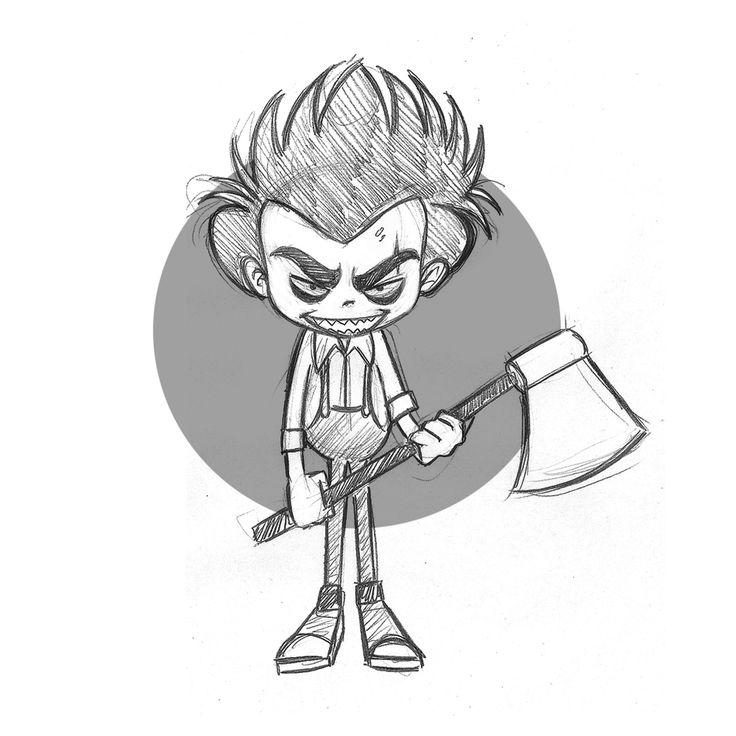 character design / pencil / sketch  #pencil