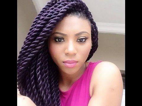 Beautiful Crochet Braids Hairstyles for African, Nigerian women in vogu...