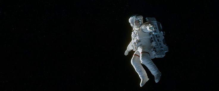 'Gravity' (2013) Dir: Alfonso Cuarón | DoP: Emmanuel Lubezki | Starring: Sandra Bullock and George Clooney