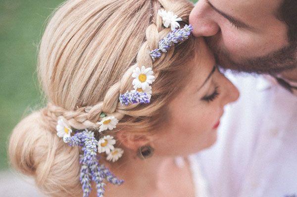 lavanda e margherite decorazioni   Lavanda e margherite per un matrimonio rustico   Wedding Wonderland
