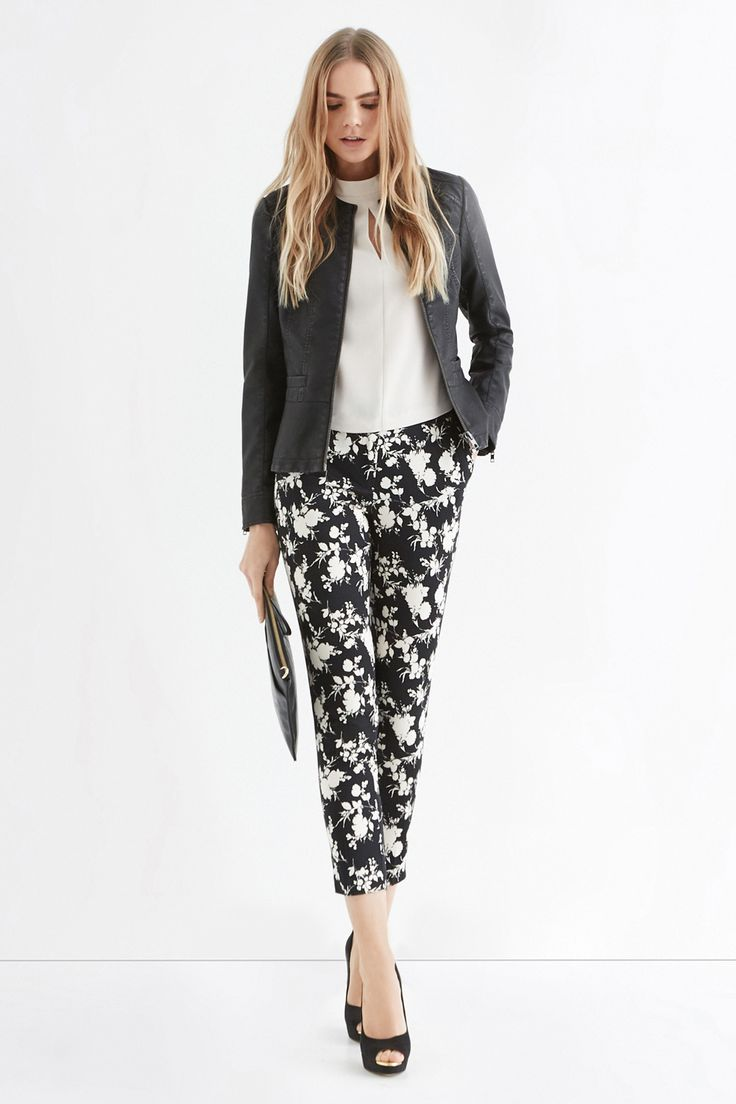 SHADOW ROSE TROUSER | Multi | Oasis Stores