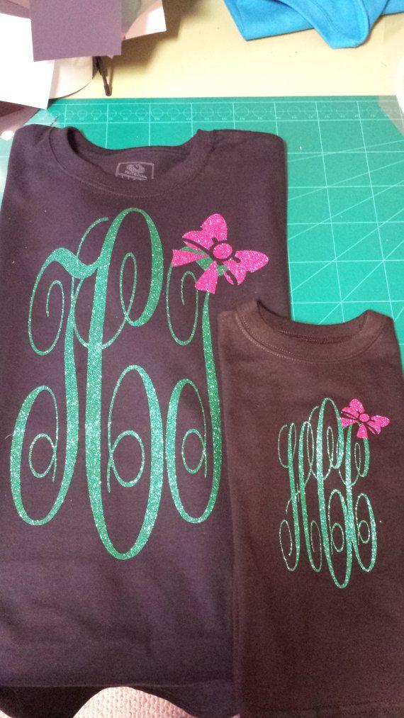 61 best vinyl monogram shirt ideas images on pinterest