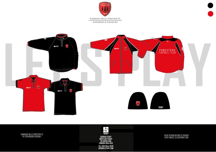 Tunbridge Wells Foresters FC Supporters Kit