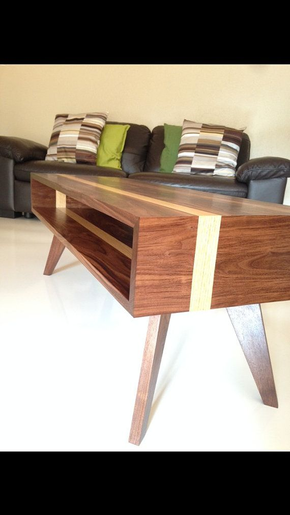 mid century modern coffee table coffee table modern coffee table walnut coffee table solid wood coffee table coffee table
