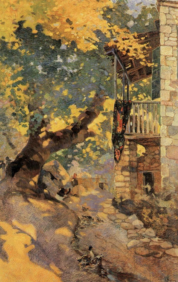 Beginning of Autumn - Θωμόπουλος Επαμεινώνδας / Epaminondas Thomopoulos (Greek, 1878-1974)