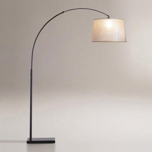 Loden Arc Floor Lamp Base, i like the hanging floor lamps, so perfect for reading in a comfy lounging chair.