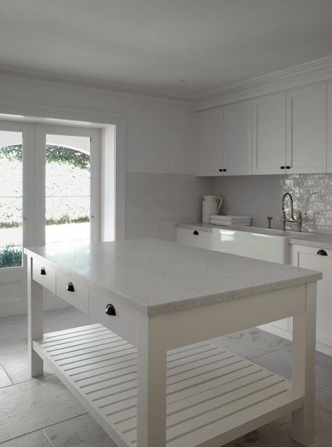 Justine Hugh Jones Design Laundry Mud Rooms Laundry Room White And Gray