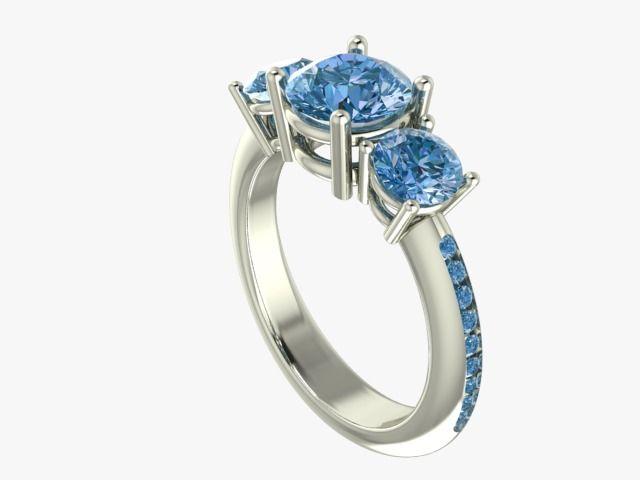 blue diamonds carat 2,50