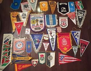 banderines equipos de futbol internacional