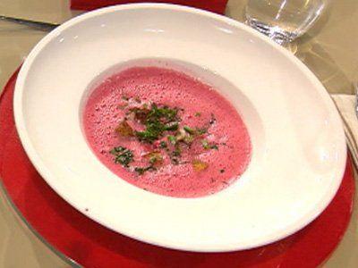 Rezept: Rote-Bete-Suppe (Steffen Henssler)
