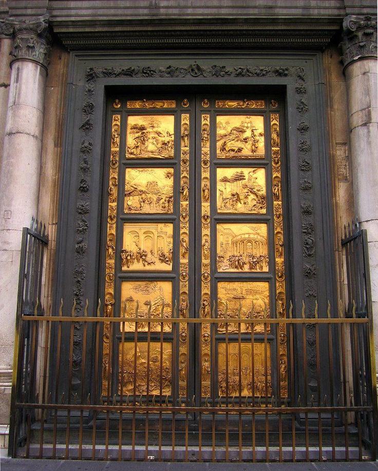 La Porta del Paradiso è la porta est del Battistero di Firenze, quella principale situata davanti al Duomo di Santa Maria del Fiore. Realizzata dall'orefice e scultore Lorenzo Ghiberti tra il 1425 e il 1452 di Fabio Peruzzi
