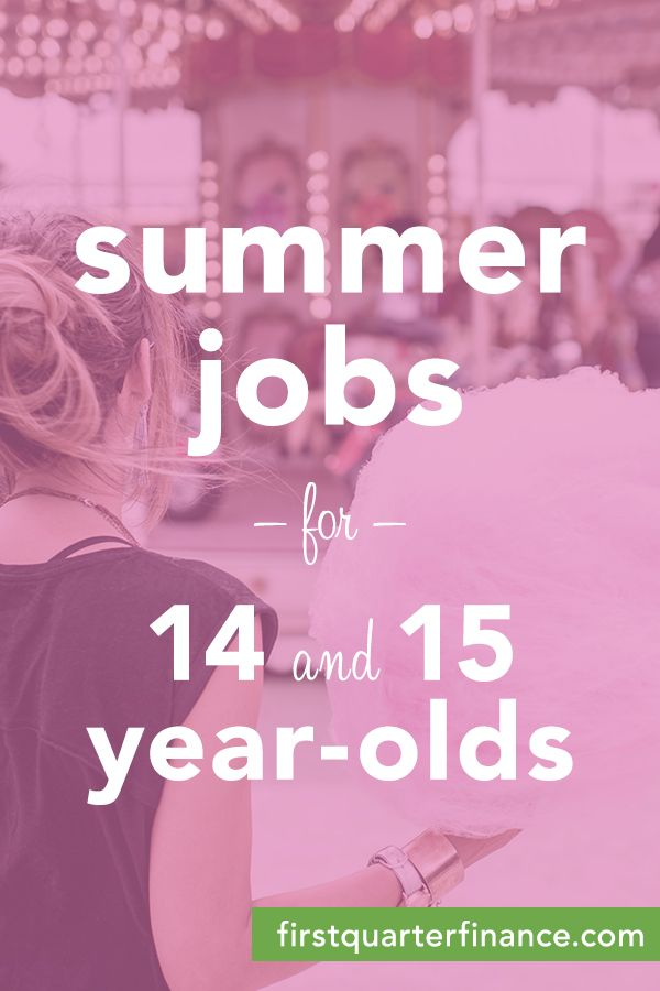 Weekend Jobs Near Me For 15 Year Olds
