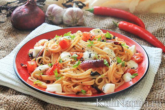 Как готовить спагетти в томатном соусе