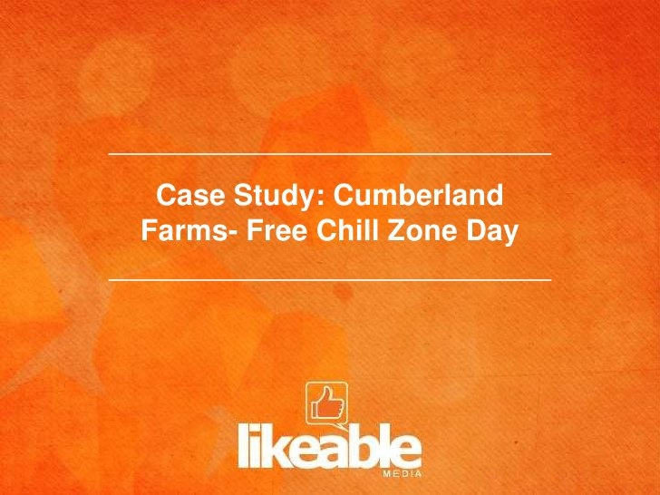 cumberland case analysis Our cbiz cumberland office is comprised of several business entities that  provide insurance, employee benefits, payroll, and retirement plan services - all.