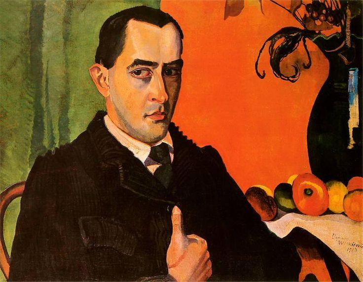 Self-Portrait | Stanislaw Ignacy Witkiewicz - 1913