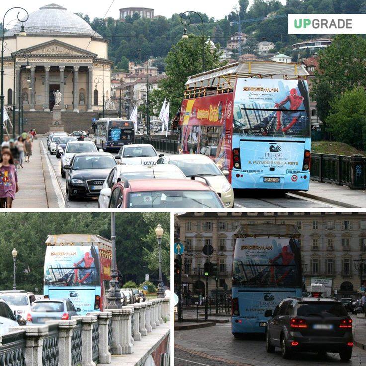 Brand: Pegaso - Università Telematica ADV: Torino #pegaso #universitàtelematica #torino #italia #università #adv #advertising #pubblicitá #pubblicitàinmovimento #bus www.upgrademedia.it