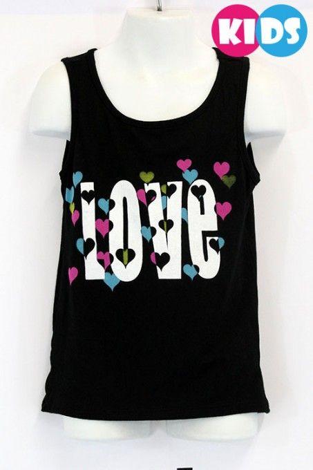 """Love"" Printed Tank"