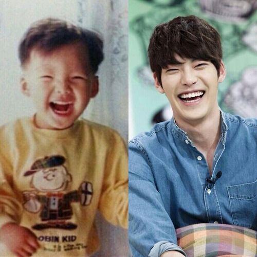 kim woobin Love his smile.