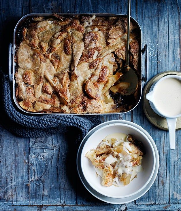 Pear and ginger cobbler |