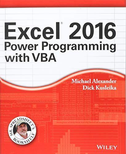 excel 2016 bible pdf free download
