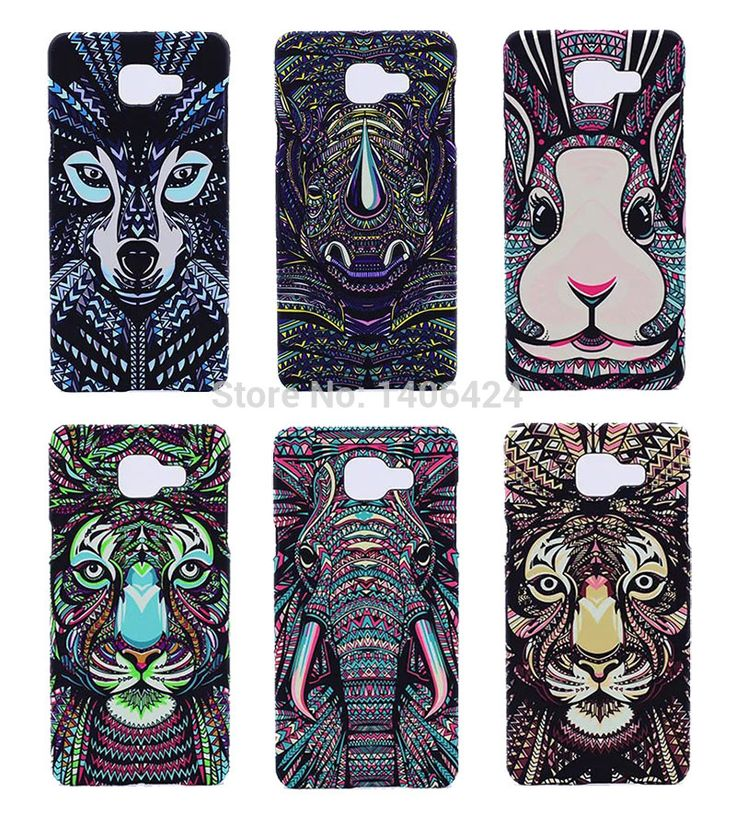 New Style Fluorescent Noctilucent 3D cute Cartoon Animal world Elephant Lion Phone Case Cover for Samsung Galaxy A5 2016 A5100