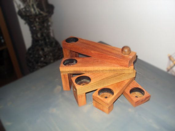 Eucalyptus Wood Rotating Candle Holder by FromTheHeartWoodMK