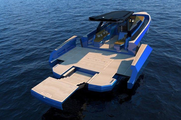 Evo Yachts décline son cockpit extensible innovant en version walk-around avec l'Evo WA