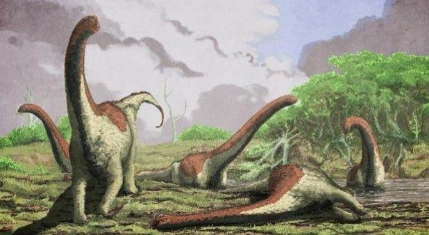 Hallan restos de una nueva especie de dinosaurio gigante en Tanzania
