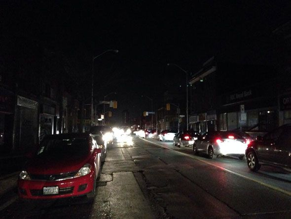 Huge blackout hits the west end of Toronto