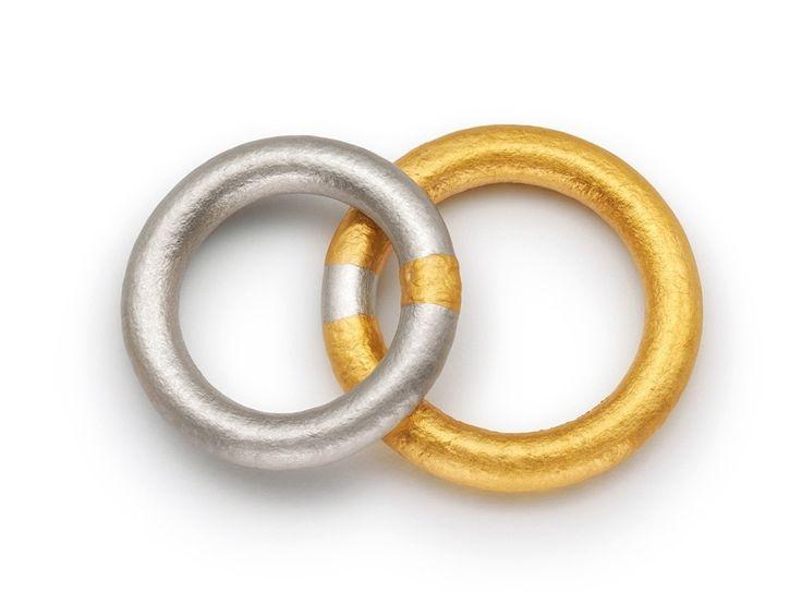 Niessing - Gold & Platinum Wedding Rings - ORRO Contemporary Jewellery Glasgow - www.orro.co.uk