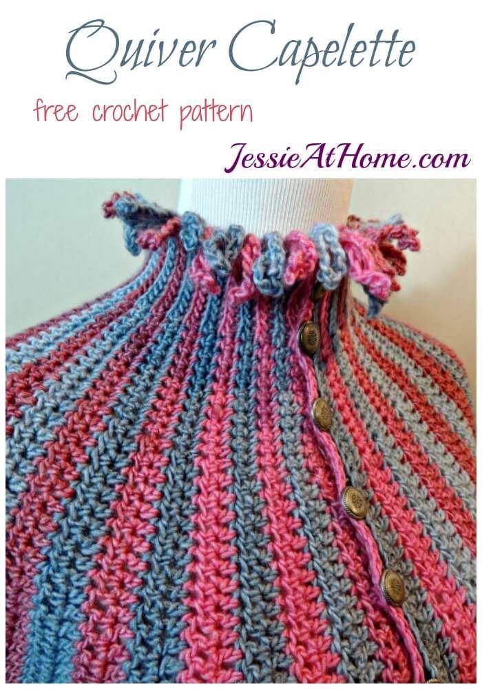 158 besten Crochet Cape Bilder auf Pinterest | Ponchos, Kostenlos ...