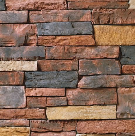Country Ledgestone Red Rock Cultured Stone By Boral