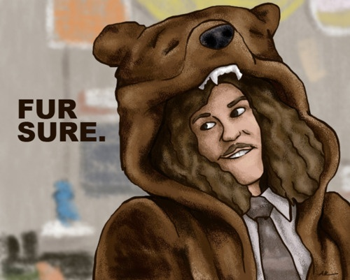workaholics: Workaholics Movies Tv, Stuff, Funny, Fur, Bitch Better, Favorite, Coat, Blake, Honey