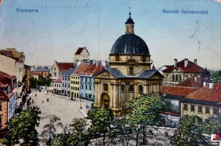 Pre-war Warsaw ! #warsaw #postcard #varsovie #pologne #poland