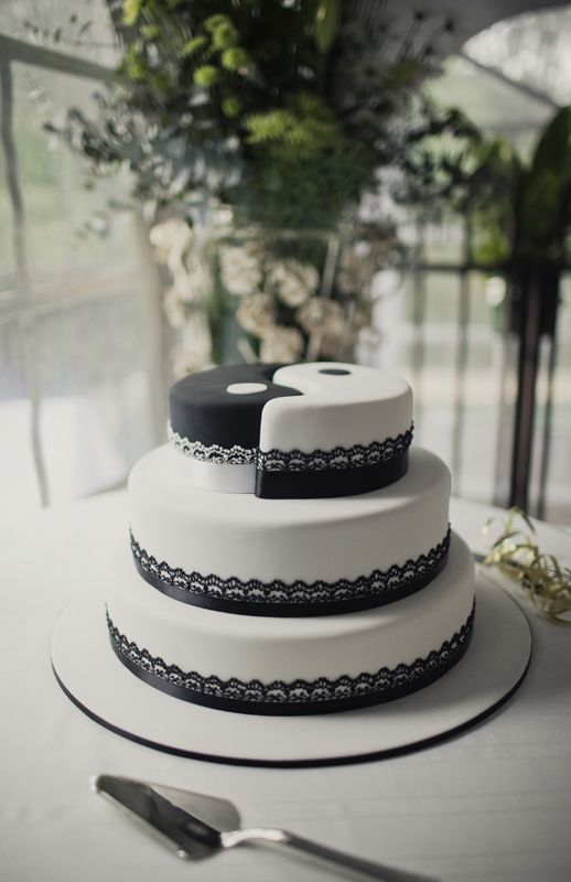 Yin Yang Cake Decoration