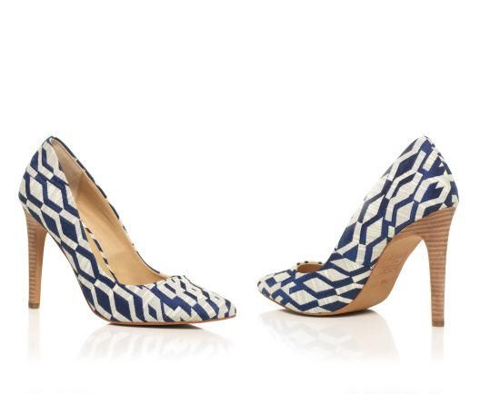 Geometric: Pairing these heels with laid-back jeans or a simple dress.